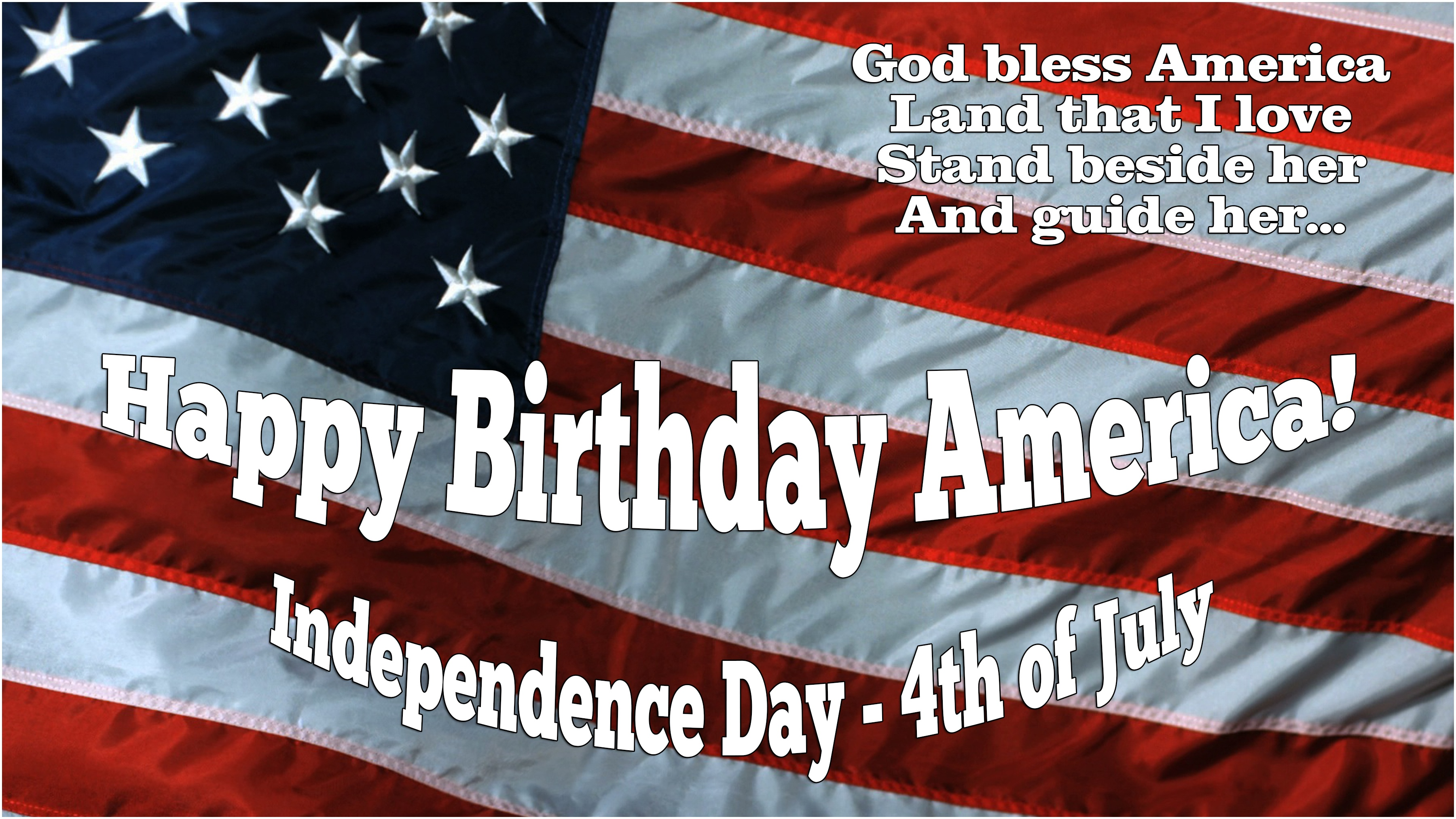 Happy Birthday America Independence Day July 4th Adr Business